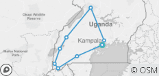17 Days Best of Uganda - Private Tour for 2 people - 17 destinations
