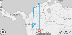 Colombia All-in - 10 destinations