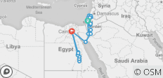 Israel, Jordan and Egypt Luxury 13 days with Nile Cruise - 28 destinations