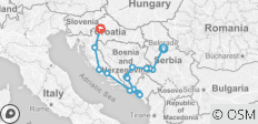 Balkan Essentials - 10 days - 17 destinations