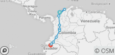 Andes & Amazon between Cartagena and Quito (Cartagena to Quito - 2019) - 10 destinations