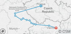 Authentic Danube & Prague (Vienna to Prague, 2019) - 12 destinations