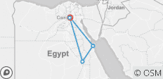 Cairo, Luxor and Hurghada 8 Days / 7 Nights Tour Package - 8 destinations