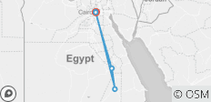 Egypt Nile Cruise 8 days 7 nights tour package - 8 destinations