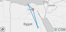 Egypt Must see sites (Cairo & Luxor) 7 Days / 6 Nights - 7 destinations