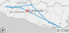 El Salvador Complete 10 days - 10 destinations