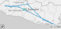 El Salvador Complete 8 days  - 10 destinations