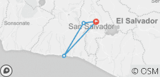 El Salvador combo City and Beach 5 Days - 4 destinations
