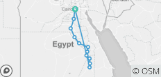 Pharaohs Nile Cruise Adventure - 8 Days - 13 destinations