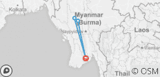 4Days 3Nights Yangon-Bagan- Mt.Popa-Yangon - 4 destinations