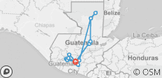 Extreme Guatemala - 9 Days - 18 destinations