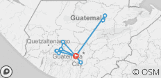 Guatemala Essential - 15 destinations