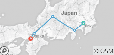 Japan One Life Adventures - 10 Tage - 5 Destinationen