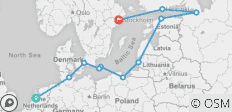 Baltic Tradewinds Route - 11 destinations
