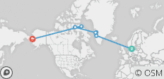 Across the Northwest Passage 21 Days - 7 destinations