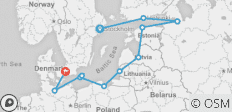 Baltic Treasures 12 Days (from Stockholm to Copenhagen) - 11 destinations