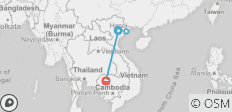 Highlights of Vietnam & Cambodia 7 days 6 nights - 4 destinations