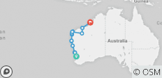 Perth to Broome Overland - 11 destinations