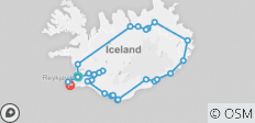 Discover Iceland: 8 Day Ring Road Personalized Self Drive Tour - 27 destinations
