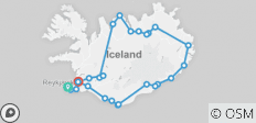 Complete Iceland: 10 Day Ring Road Personalized Self Drive Tour - 26 destinations