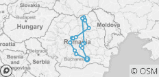 Romania Country & People - 17 destinations
