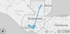 Glimpse of Guatemala - 11 destinations
