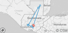 Glimpse of Guatemala 5D/4N - 9 destinations