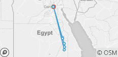 Journey to Cairo with Nile Cruise 8 days - 9 destinations