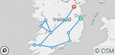 Shades of Ireland  (Dublin to Kingscourt) (2019) - 14 destinations