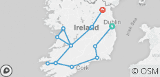 Shades of Ireland (14 destinations) - 14 destinations