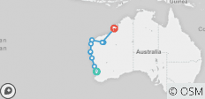 Perth To Broome via Karijini  - 10 destinations
