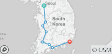 South Korea Western Adventure - 8 destinations
