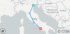 "Venice, Florence, Rome and Sorrento escorted small group: ""Signature\"" tour - 4 destinations"