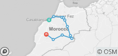 Morocco Desert and Kasbahs - 11 destinations