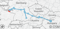 Jewels of Central Europe – Westbound 2019 - 17 destinations