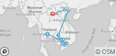 Ultimate Southeast Asia & The Majestic Mekong with Luang Prabang – Northbound - 19 destinations