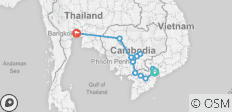 Fascinating Vietnam, Cambodia & the Mekong River with Bangkok – Northbound - 13 destinations