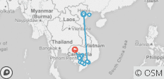 Fascinating Vietnam, Cambodia & the Mekong River with Hanoi & Ha Long Bay (Northbound) 2022 - 17 destinations