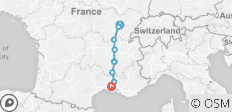Burgundy & Provence – Cruise Only Southbound (from St Jean de Losne to Arles) - 9 destinations