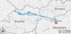 Active Discovery on the Danube – Eastbound - 11 destinations