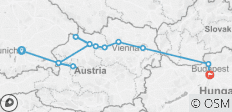 Active Discovery on the Danube with  3 Nights Salzburg area – Eastbound - 13 destinations