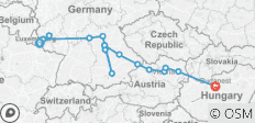 Jewels of Central Europe – Eastbound - 20 destinations