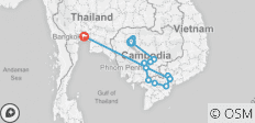 Fascinating Vietnam, Cambodia & the Mekong River with Bangkok – Southbound - 18 destinations
