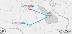 Weekend to Armenia - 4 destinations