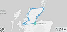 The North Coast 500 - 3 day tour from Inverness - 13 destinations