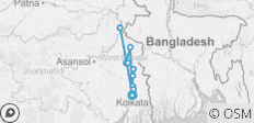 The Lower Ganges River (from Kolkata to Kolkata) - 12 destinations