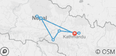 Explore Nepal Tours 11 Days - 9 destinations