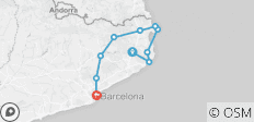 Bicycling Catalonia\'s Costa Brava Plus! Barcelona - 10 destinations