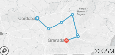 Andalucia Cycling: Cordoba to Granada in 8 days - 7 destinations