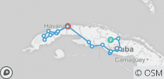 Grand Cycling Tour of Cuba - 19 destinations